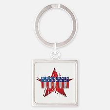 Wonder Woman Square Keychain
