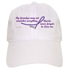 Never Forgets To Love (Grandpa) Baseball Cap