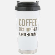 Coffee Then Candlemakin Stainless Steel Travel Mug