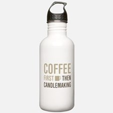 Coffee Then Candlemaki Water Bottle