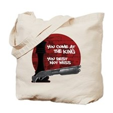 The Wire The King Tote Bag