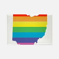 ohio rainbow Magnets