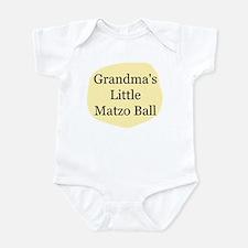 """Grandma's Little Matzo Ball"" Infant Bod"