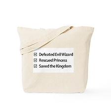 Gamer Checklist Tote Bag