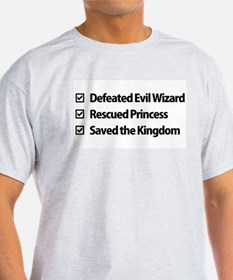 Gamer Checklist T-Shirt