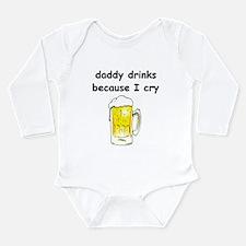 Unique Because Long Sleeve Infant Bodysuit