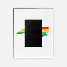 north carolina rainbow Picture Frame