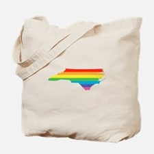 north carolina rainbow Tote Bag