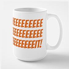 The Wire Sheeeeeit Large Mug