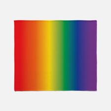 Rainbow lgbt Throw Blanket