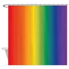 Rainbow lgbt Shower Curtain