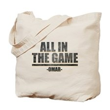 The Wire All in the Game Tote Bag