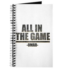 The Wire All in the Game Journal