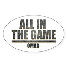 The Wire All in the Game Decal