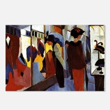 August Macke - Fashion Sh Postcards (Package of 8)
