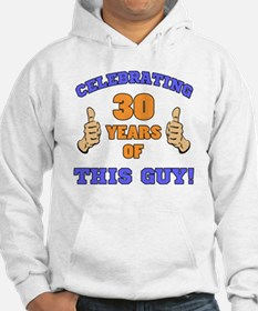 Celebrating 30th Birthday For Me Hoodie