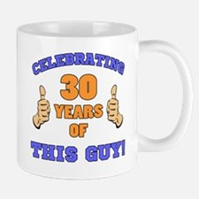 Celebrating 30th Birthday For Men Mug