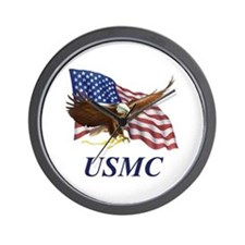 UNITED STATES MARINE CORPS Wall Clock