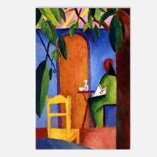 August Macke - Turkish Ca Postcards (Package of 8)