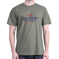The Wire Vote Clay Davis T-Shirt