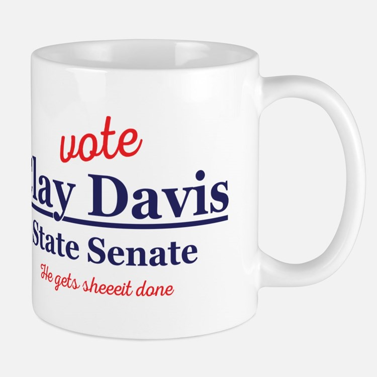 The Wire Vote Clay Davis Mug