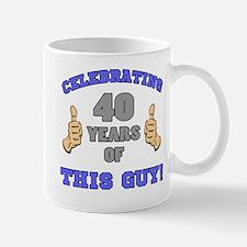 Celebrating 40th Birthday For Men Mug