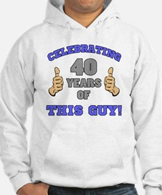 Celebrating 40th Birthday For Me Hoodie