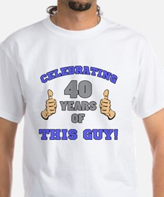 Celebrating 40th Birthday For Men Shirt