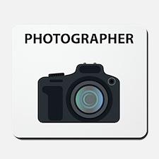 Warning! Photographer! Mousepad