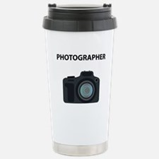 Warning! Photographer! Travel Mug