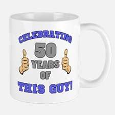 Celebrating 50th Birthday For Men Mug