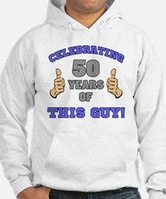 Celebrating 50th Birthday For Me Hoodie