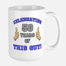 Celebrating 50th Birthday For Men Mug