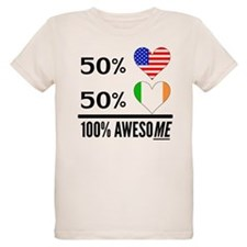Half American Half Irish T-Shirt