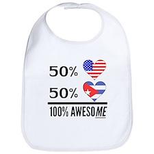 Half American Half Cuban Bib