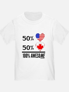 Half American Half Canadian T-Shirt