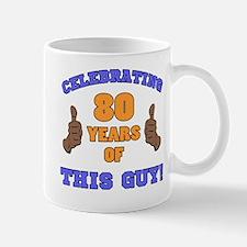 Celebrating 80th Birthday For Men Mug