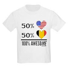 Half American Half Belgian T-Shirt