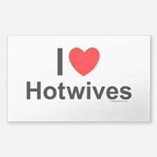 Hotwives Sticker (Rectangle)