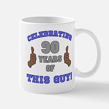 Celebrating 90th Birthday For Men Mug