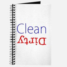 Clean Dirty Dishwasher Red Blue Becky's Fa Journal
