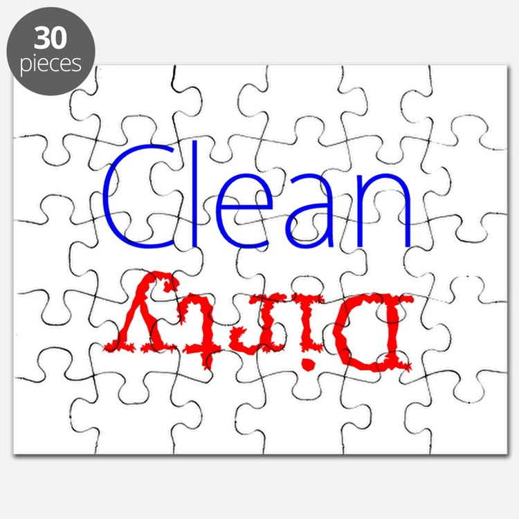 Clean Dirty Dishwasher Red Blue Becky's Fav Puzzle