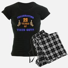 Celebrating 21st Birthday Fo Pajamas