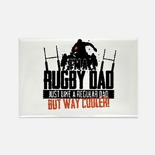 I'm A Rugby Dad, Just Like A Regular Dad B Magnets