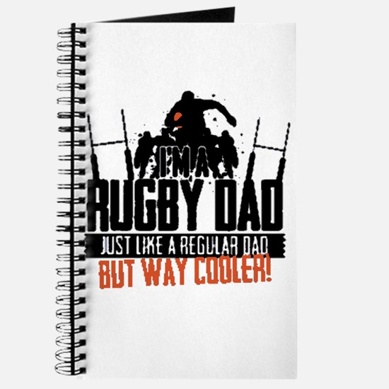 I'm A Rugby Dad, Just Like A Regular Dad B Journal