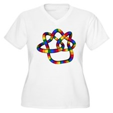 True Love Knot Plus Size T-Shirt