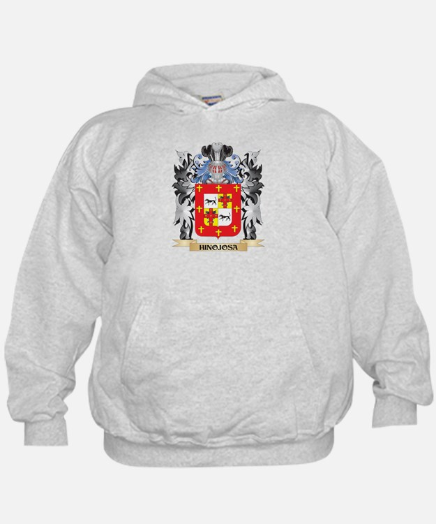 Hinojosa Coat of Arms - Family Crest Hoodie