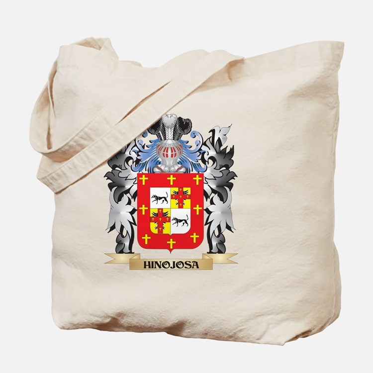 Hinojosa Coat of Arms - Family Crest Tote Bag