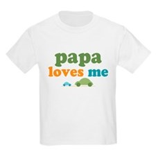 Papa Loves Me Cars T-Shirt