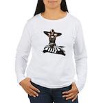 Can't.Hear.U. Women's Long Sleeve T-Shirt